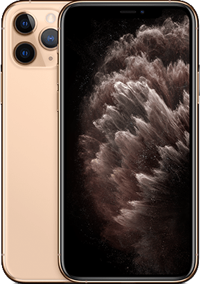 Logo-iPhone 11 Pro Max Gold