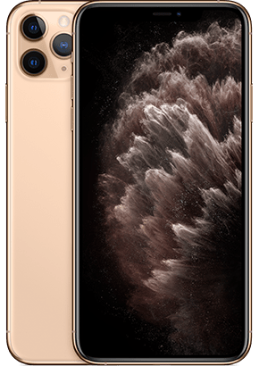 Logo-iPhone 11 Pro Gold