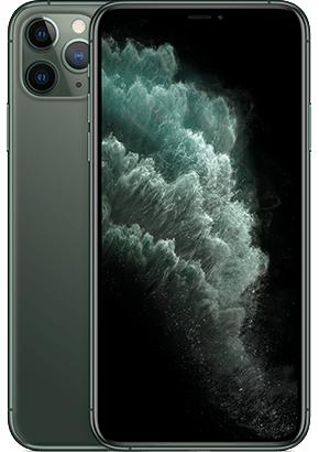 Logo-iPhone 11 Pro Max Midnight Green