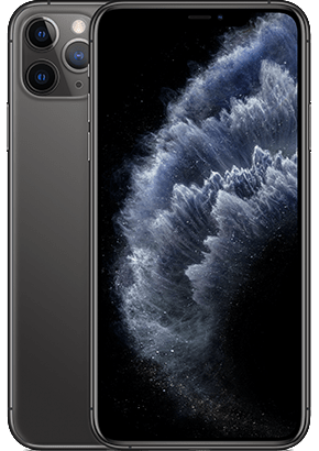 Logo-iPhone 11 Pro Max Space Gray