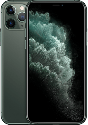 Logo-iPhone 11 Pro Midnight Green