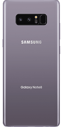 Logo-Galaxy Note 8 Back